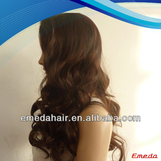 Wholesale indian remy high quality beyonce curly wigs