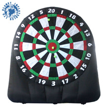 New Launch Customized Inflatable Golf Dart Board Game For Sale