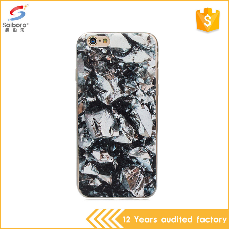 China manufacturer unique design tpu marble smartphone case for iphone