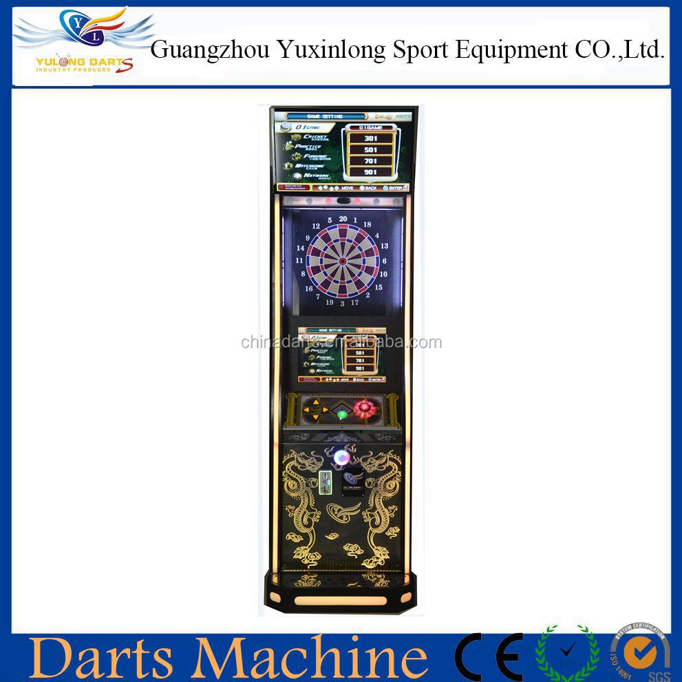 2016 Hot sale 22 inch & 32 inch double players electric darts machine with soft tip darts for Club and Bar