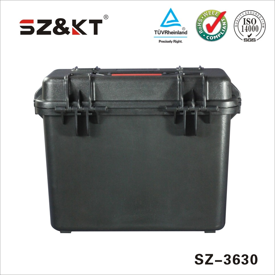 waterproof dustproof crushproof plastic equipment case for camera
