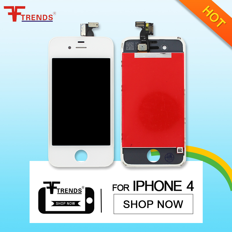 Top quality cell accessories for iphone 4 CDMA 4S 4G touch screen lcd digitizer replacement with 12 months warranty