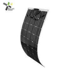 100 Watt 12 Volt etfe Semi Flexible Solar Panel