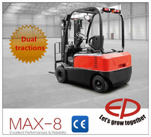 EP MAX-8 1.5t Four-wheel Electric Forklift CPD15FVD8 with dual traction lifting 6m