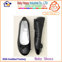 Wholesale Black Leather Childrens Shoes