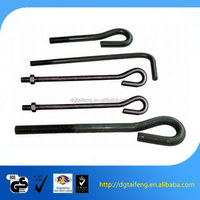 Black oxide eye screws and L wrench with stainless steel