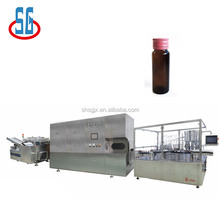 SGKGZ 150-220bottle/min Automatic 5-20ml Small Doses Liquid Vial Bottle Filling Rubber Capping Machine