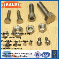wholesale hgh quality titanium bolts and screw from baoji liuwei