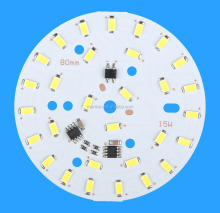 15W 220V LED board manufacture high voltage led pcb design and layout
