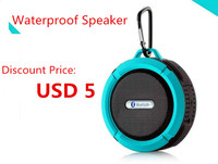 2016 factory wholesale waterproof wireless bluetooth mini speaker support micro usb