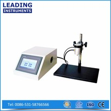 Pouch leak and seal strength test machine