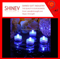 High quality long lasting battery led submersible lights