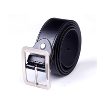Fashion pu leather belt for men