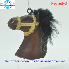 Artifical horse head for halloween or daily home decoration,Halloween props