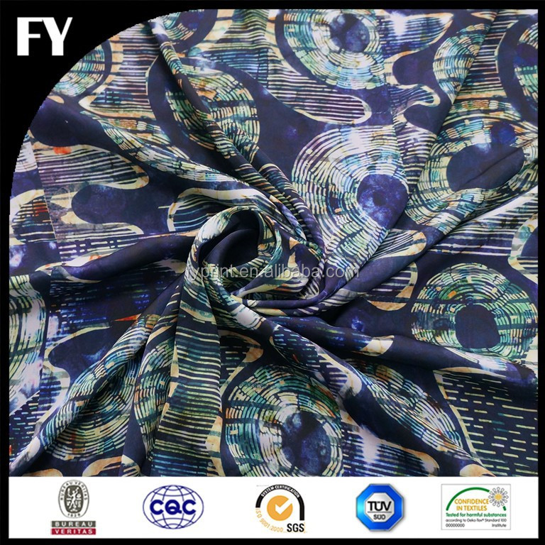 Hi quality digital printing in cotton fabric