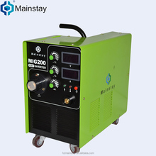 Alibaba recommend IGBT 200 amp welding machine mig200 welders inverter stainless steel welding machine