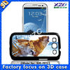 3D animal Cute case for samsung galaxy s3 9300