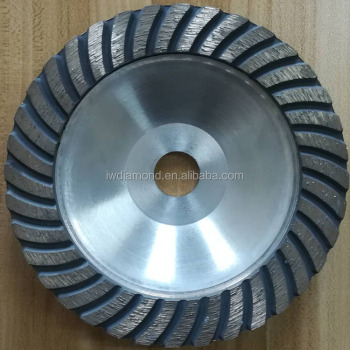 Aluminum based diamond grinding wheel