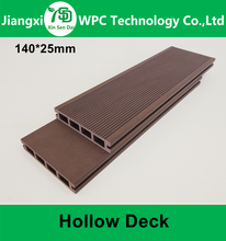 High Quality WPC Decking Wood Plastic Composite Decking For Outdoor