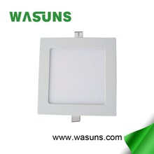 factory price ultra slim 9w recessed square led panel price