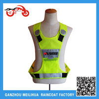 High Quality Cheap Reflective Mesh High Visibility Radians Led Safety Riding Vest