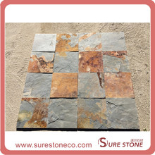 Rusty natural stone slate flooring tiles and Wall Tiles