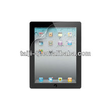 High quality LCD screen protector for iPad,Easy application,bubble free,Dustproof and waterproof