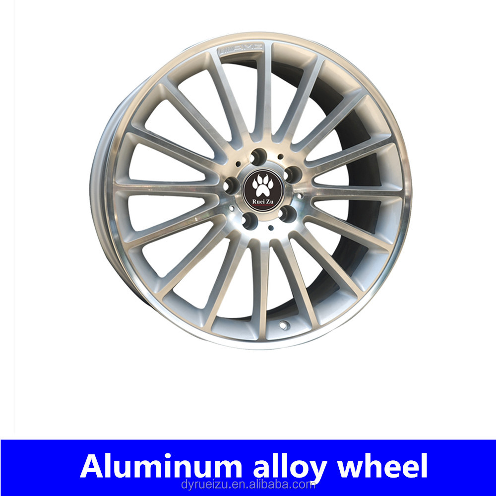 Alloy wheel rim 18inch 19inch 5*112 grey/black car rims replica wheels for AMG ben-z car