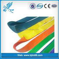 industrial belt, safety line belt, 150mm webbing for sf7/1 5t polyester lifting sling, tow straps webbing