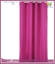 Grommet Top Thermal Insulated Curtain with Backside Silver Backing to Reflect SunlightsPanel,Rose