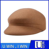 New Shape Brown Quality Wool Hat For Fashion Design Cool Wear Wholesale