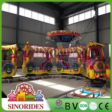Alibaba in Russian track size customized amusement rides track train