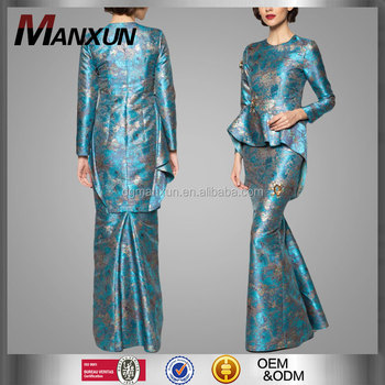 Islamic clothing modern ethnic wear 2016 baju kurung fashion long sleeve malaysia baju kurung