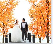 fake artificial bonsai chinese maple trees for weddings