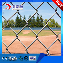 Wholesale price PVC PE Coated or HDG Chain Link Fence