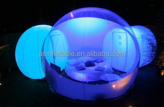 Outdoor Camping Inflatable Clear Air Bubble Dome Tent