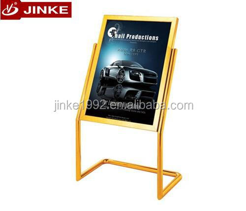 Jinke Metal Advertising Poster Board, Mobile Billboard Stand For Sale