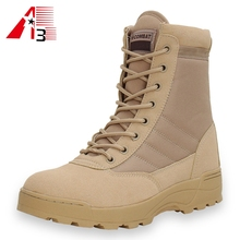 China army military boot manufacturer supply high ankle desert Combat army military boot