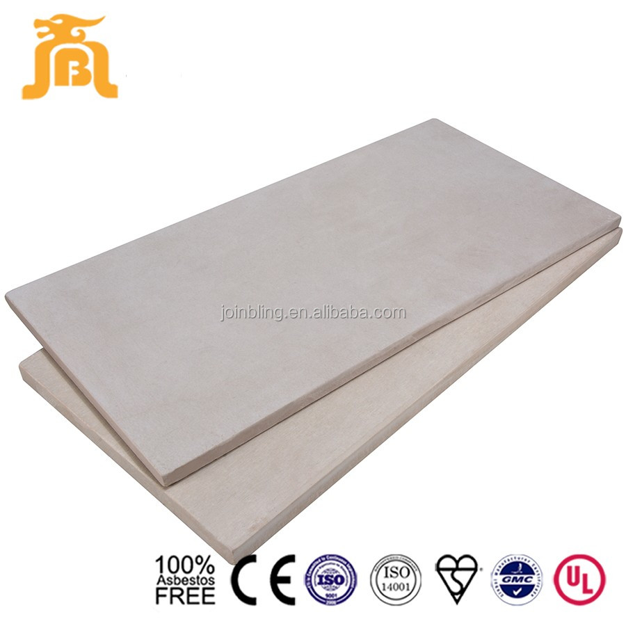 construction material roof board waterproof fiber cement sheet