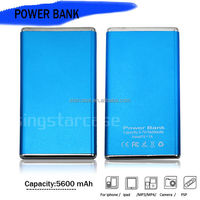 Wholesale 5600Mah Portable Power Bank For Huawei , for Blackberry , for Samsung Phones