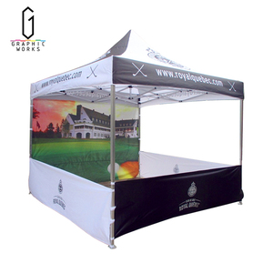 customized dye sublimation print canopy digital wedding marquee party tent