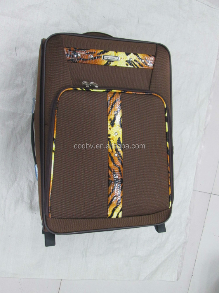 2014 cheap and newest desigh trolley case suitcase luggage travel bags