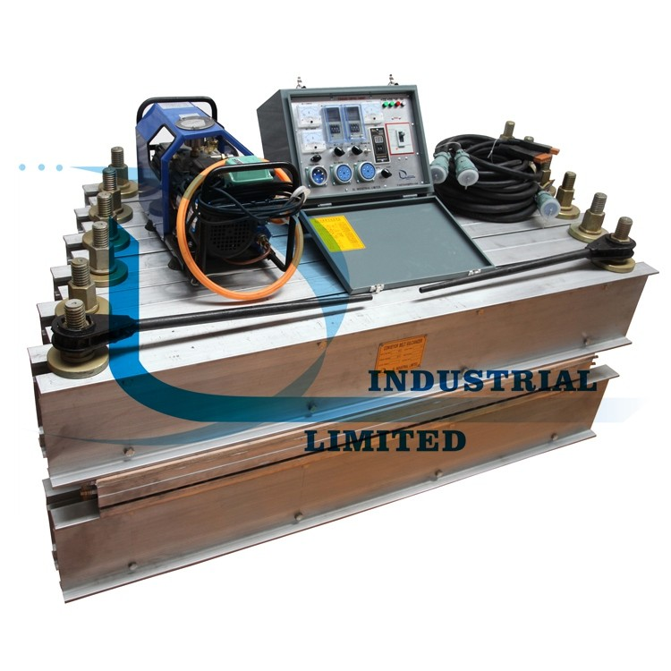 Hot welding machine for conveyor Belt
