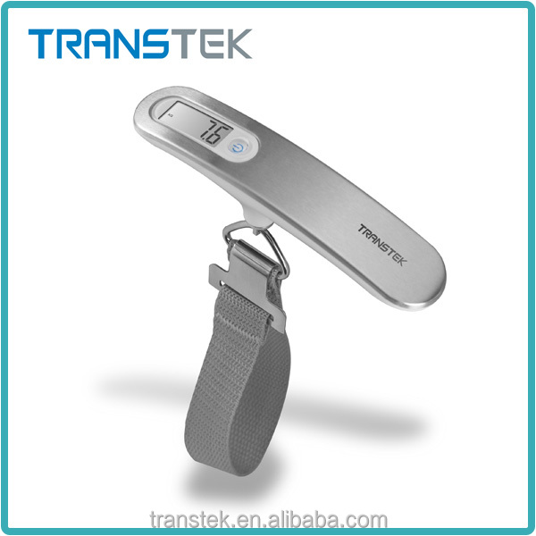 digital luggage scale/luggage weighing scale with comfortable hole