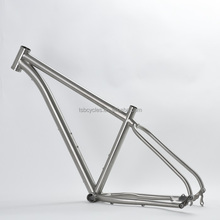 Titanium fat snow bike frame hardtail beach cruiser frame PF30 TSB-FT501