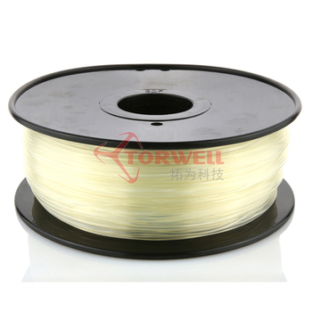 Clear 1.75mm ABS/PLA filament for 3D printer,1kg/spool(2.2lb)