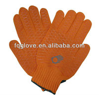 FQGLOVE PVC coated cotton and polyester work gloves