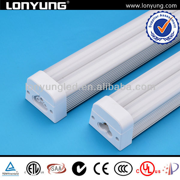 T5 double tube with fixture water proof IP65 SMD3014 tubo circular fluorescente de t5 22w