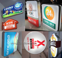 Advertising round shape aluminum frame vacuum form used sign equipment for sale