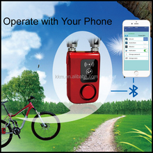 Factory Manufacture Waterproof Auto Alarm Digital Bluetooth Lock For Bike Or Door